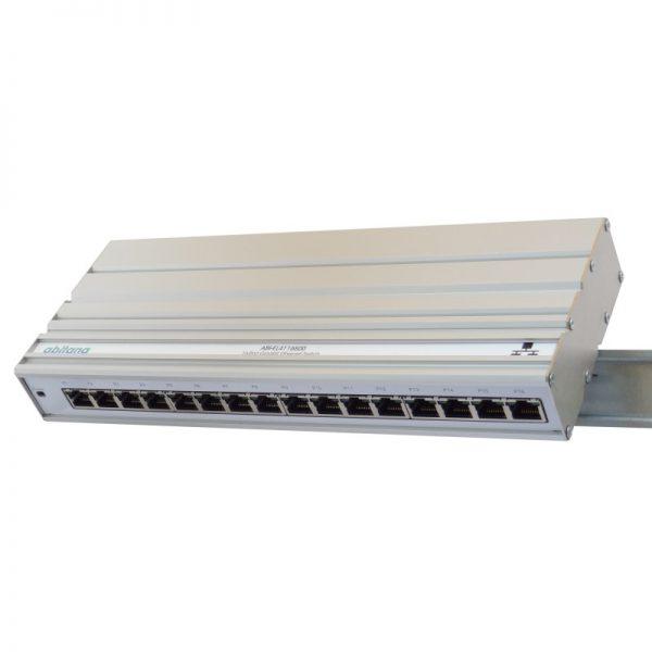 Abitana, Ethernet Switch 16 x Gigabit - DIN rail montage (ABI-EL4116S00)