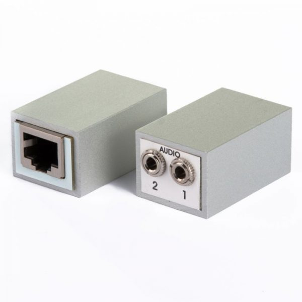Abitana, Audio Adapter RJ45 to 2x 3,5mm stereo jack (ABI-MM1009S00)