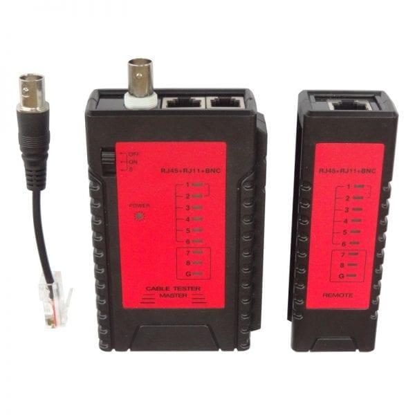 Abitana, Wiremap network cabling tester for RJ45, RJ11 and Coax links (ABI-TT1006S00)