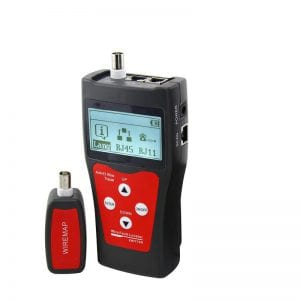 Abitana, Link Length & Wiremap cabling tester for RJ45, RJ11, COAX links (ABI-TT1008S00)