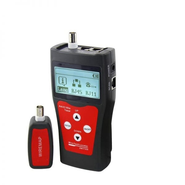 Abitana, Link Length & Wiremap cabling tester for RJ45, RJ11, COAX links (ABI-TT1008S00)